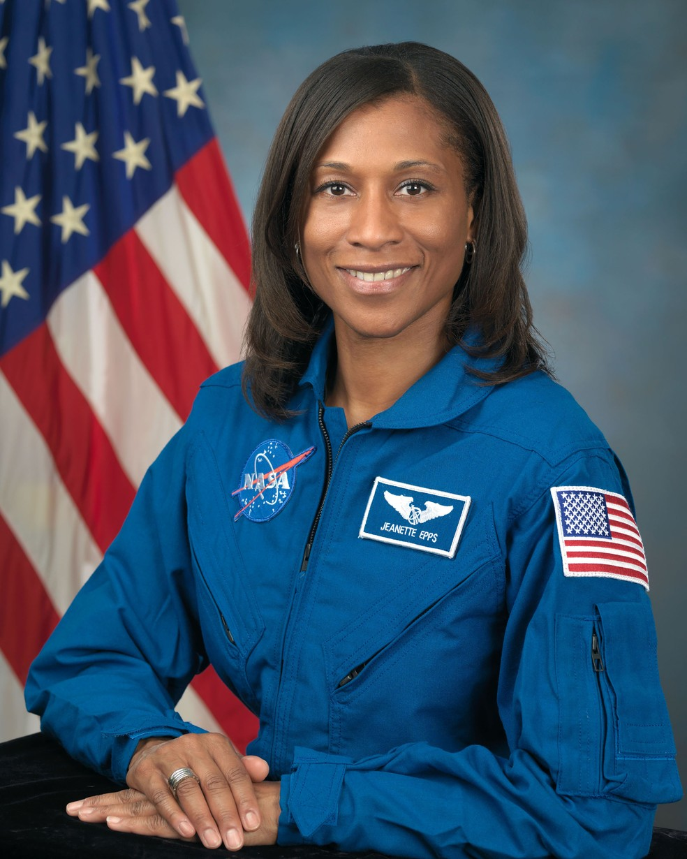 Foto da Nasa de 2009 mostra a astronauta Jeanette Epps  (Foto: Handout / NASA / AFP)