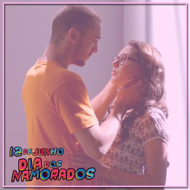 SaLua é o casal mais fofo! (Foto: Malhação / TV Globo)
