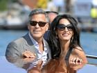 Cardápio do casamento de Clooney inclui lagostas, cogumelos e figos