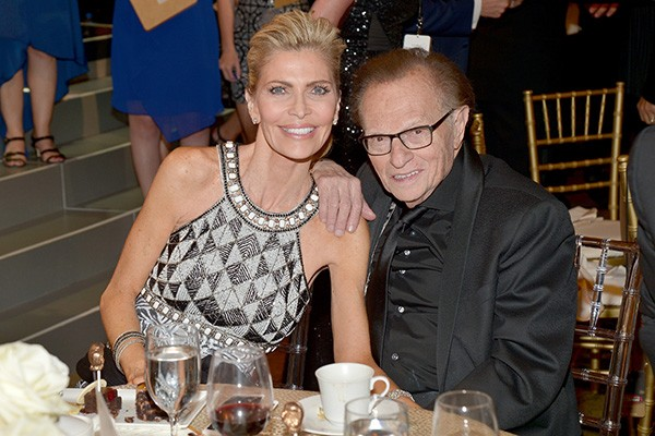Larry King e Shawn King (Foto: Getty Images)