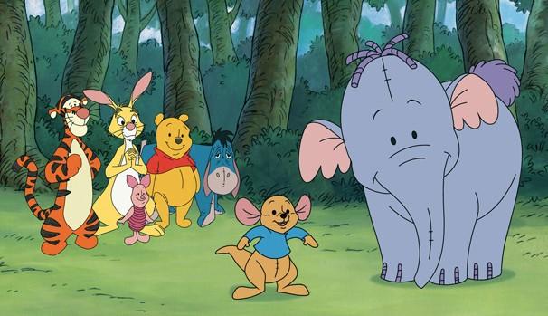 Pooh e sua turma vão atrás de um Efalante (Foto: Divulgação/Reprodução)