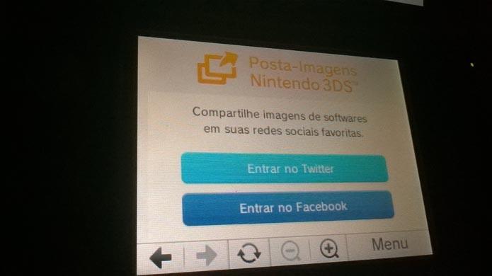 Escolha a rede social (Foto: Reprodução/Murilo Molina)