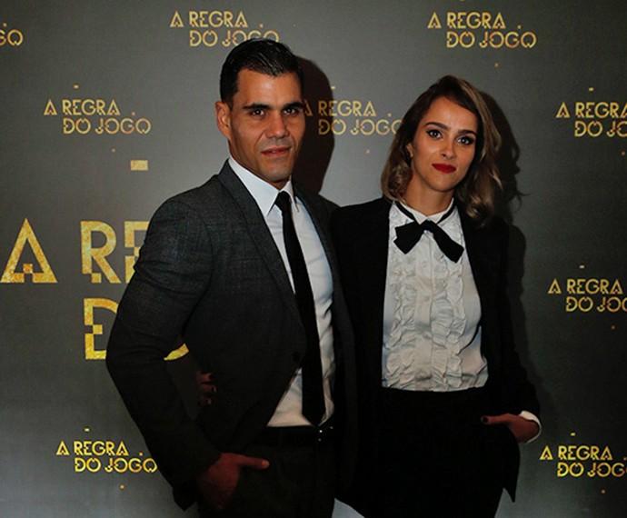 Juliano Cazarré, viverá o funkeiro MC Merlô, e a esposa, Letícia Cazarré (Foto: Raphael Dias/TV Globo)