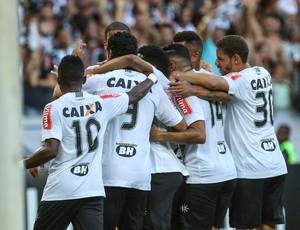 Jogadores comemoram gol do Atlético-MG contra o América-MG (Foto: Bruno Cantini/Atlético-MG)