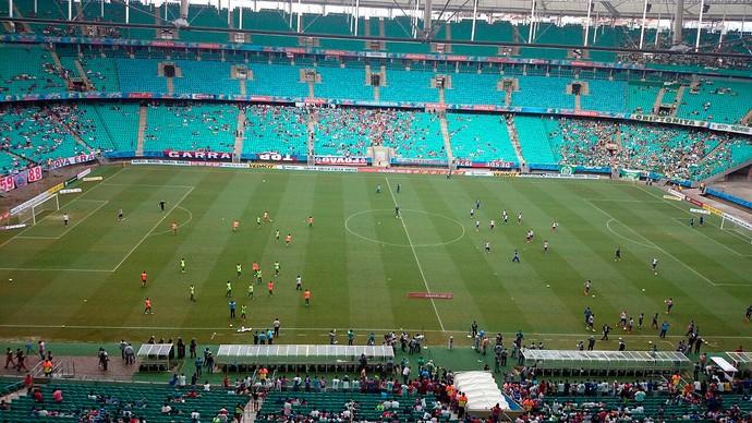 Bahia x Vitória da Conquista; arena fonte nova (Foto: Eric Luis Carvalho)