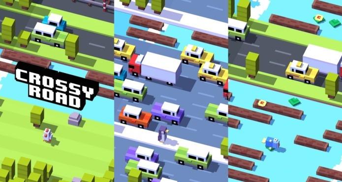 Crossy Road, versão da Google Play é a mais divertida (Foto: Divulgação)