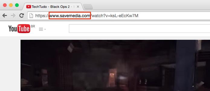Substitua youtube por savemedia (Foto: Reprodução/Paulo Alves)