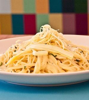 Capellini ao limão-siciliano (Foto: Divulgação)