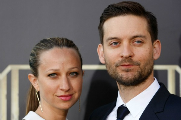 Jennifer Meyer e Tobey Maguire (Foto: Getty Images)
