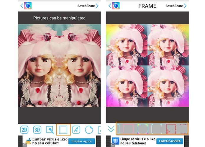 PhotoMirror: personalize sua foto com efeito de espelho no aplicativo Android P04