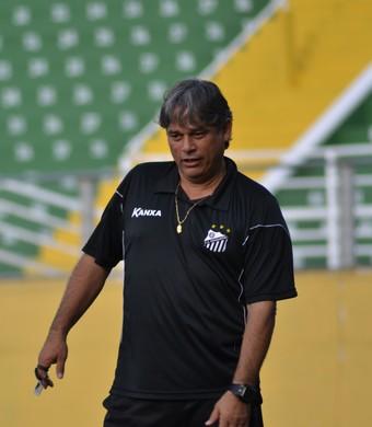Técnico Marcelo Veiga Bragantino (Foto: Filipe Rodrigues)