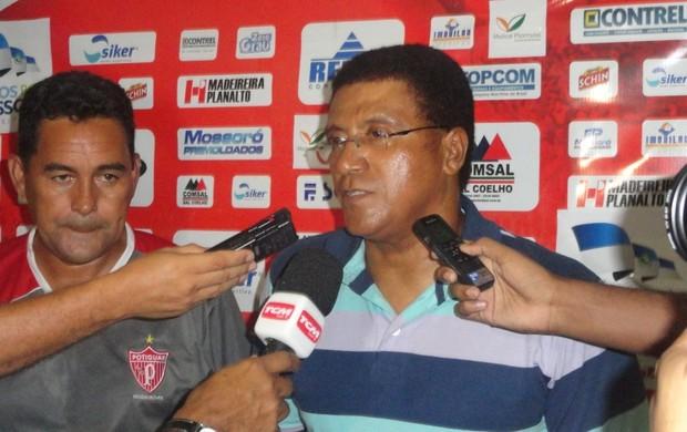 Edinho Cardoso e Samuel Cândido destacam vitória do Potiguar de Mossoró (Foto: Divulgação/Potiguar de Mossoró)