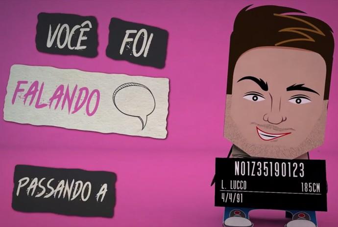 Lucas Lucco lançou lyric vídeo para o single Adivinha (Foto: Reprodução)