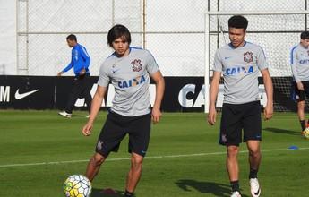 Cristóvão estuda mudar disposição do ataque do Corinthians diante do Inter