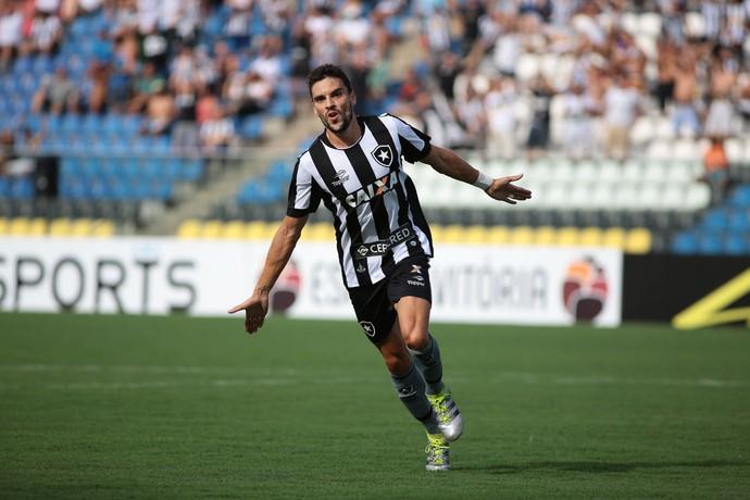 Pimpão gol Botafogo x Rio Branco (Foto: Futura Press)