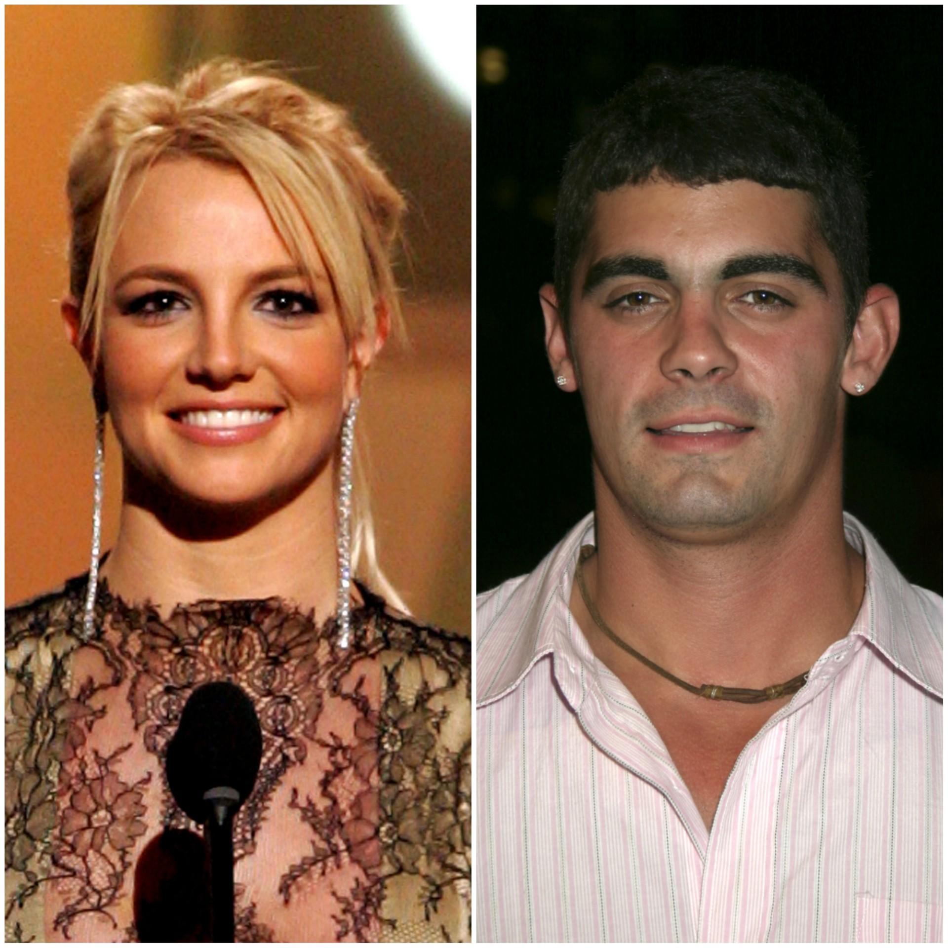 """Britney Spears, atualmente com 32 anos de idade, se casou com o amigo de infância Jason Alexander em Las Vegas, EUA. Mas anulou tudo 55 horas depois, afirmando que não conseguia entender o que estava fazendo na hora da cerimônia e se dizendo """"incapaz de concordar com o casamento"""". (Foto: Getty Images)"""