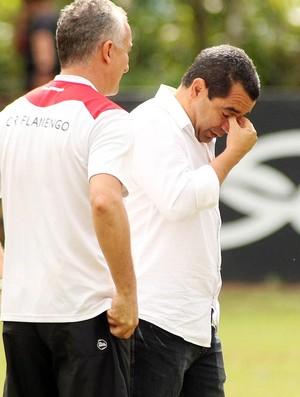 dorival junior zinho flamengo treino (Foto: Mauricio Val / Vipcomm)