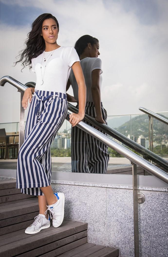 Yara conta que gostaria de desfilar na Fashion Week (Foto: Inácio Moraes/ Gshow)