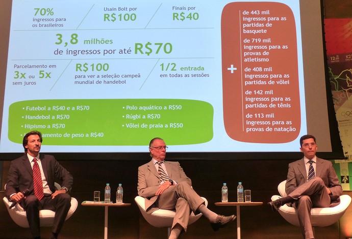 valores evento ingressos Rio 2016 (Foto: Vicente Seda)
