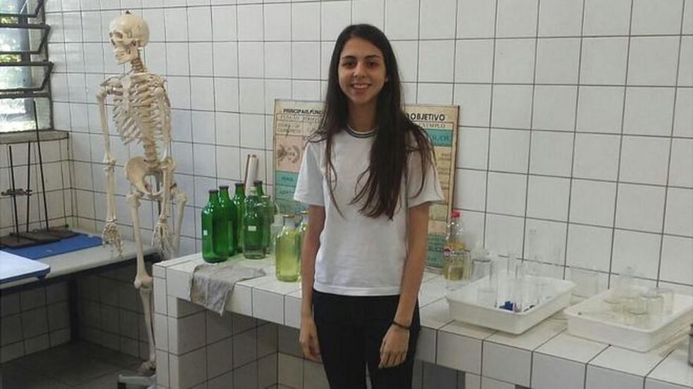 Estudante usou iniciação científica escolar para ajudar pessoas que sofrem com distúrbio do sono  (Foto: Arquivo Pessoal)
