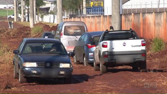 Moradores reabrem desvio de pedágio da BR-369, em Arapongas