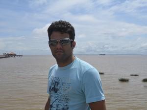 Jim Daves Almeida, de 35 anos (Foto: Dyepeson Martins/G1)