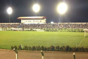 Estádio Gigante do Norte em Sinop (Foto: João Morandi/TVCA)