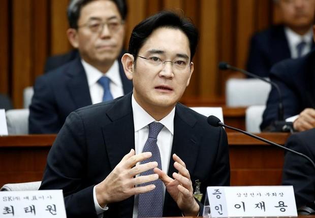 Lee Jae-yong, vice-presidente da Samsung e herdeiro do conglomerado sul-coreano (Foto: EFE)