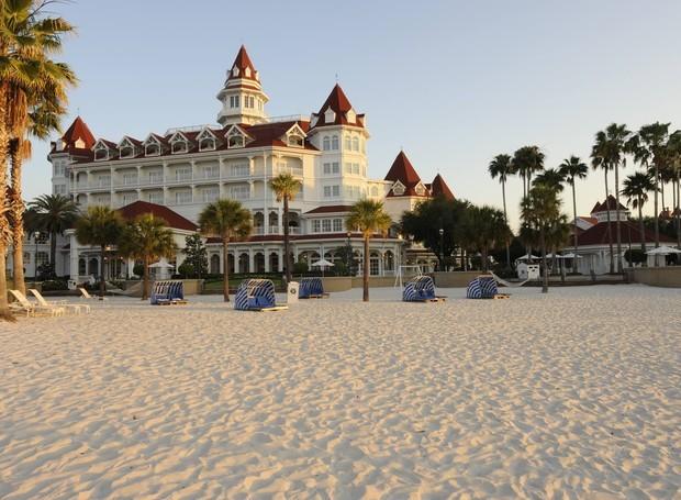 O acidente com o menino aconteceu no Grand Floridian Resort and Spa (Foto: Reprodução Facebook)