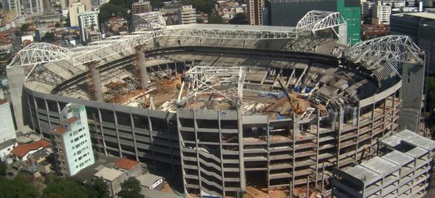 Arena Palestra Allianz Parque agosto (Foto: Divulgação / WTorre)