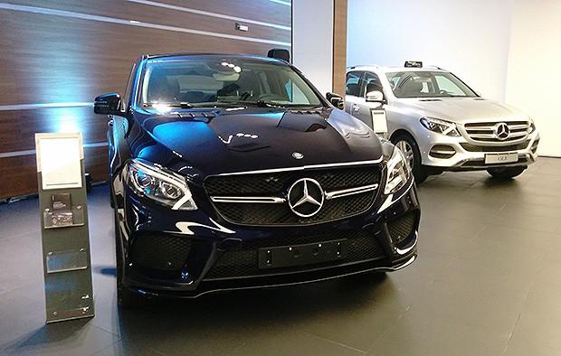 Nova concessionária Mercedes-benz (Foto: Alexandre Izo/Autoesporte)