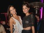 Adriana Lima e Raica Oliveira ousam com modelitos com transparncia