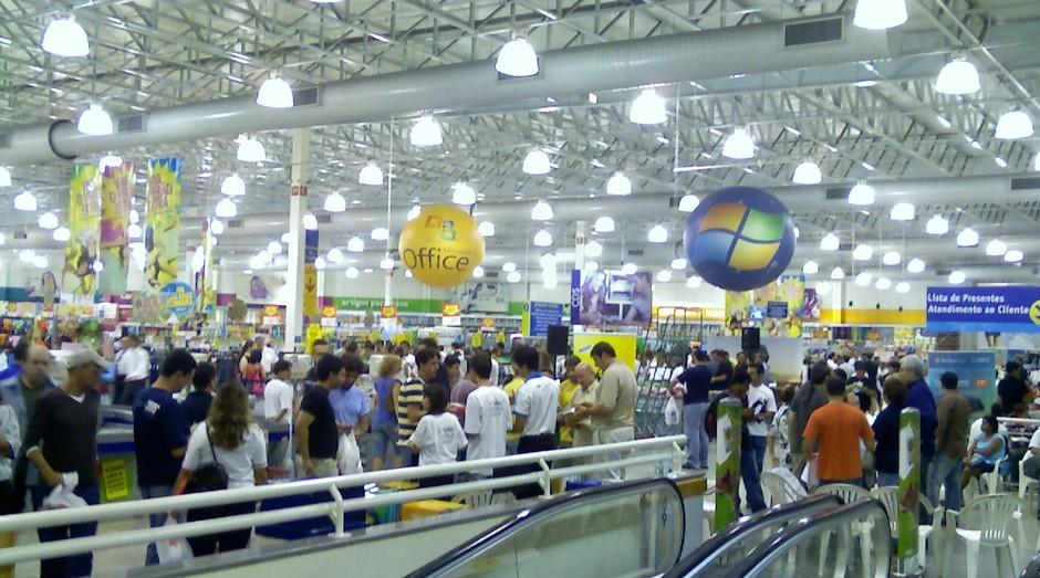 Extra Itaim, em São Paulo (Foto: Divulgação)