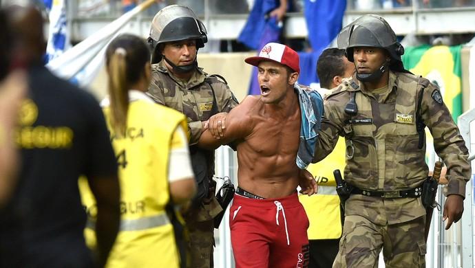 torcedor Cruzeiro X Atlético-mg (Foto: Douglas Magno)