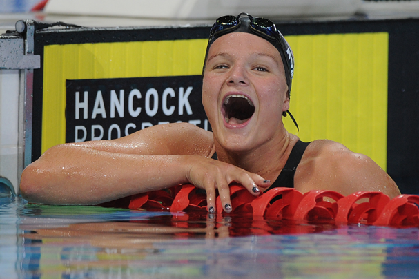 Cierra Runge, nadadora americana (Foto: Matt Roberts / Getty Images)