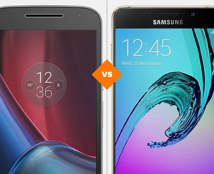 Moto G 4 Plus ou Galaxy A7 2016: analise preço e especificações dos celulares (Foto: Arte/TechTudo)