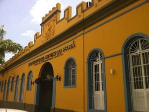 Fachada do Instituto de Artes do Pará (IAP) (Foto: Divulgação/ Ascom Secult)