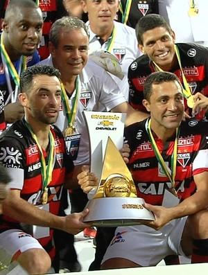 Atlético-GO campeão da Série B 2016 - Gilsinho (Foto: Reprodução/TV Anhanguera)