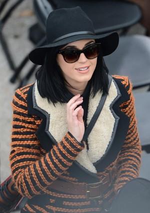 Katy Perry na posse de Obama (Foto: Stan Honda / AFP / Agência)