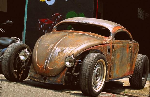 Volkswagen Fusca Rat Rod  (Foto: Arquivo Pessoal)