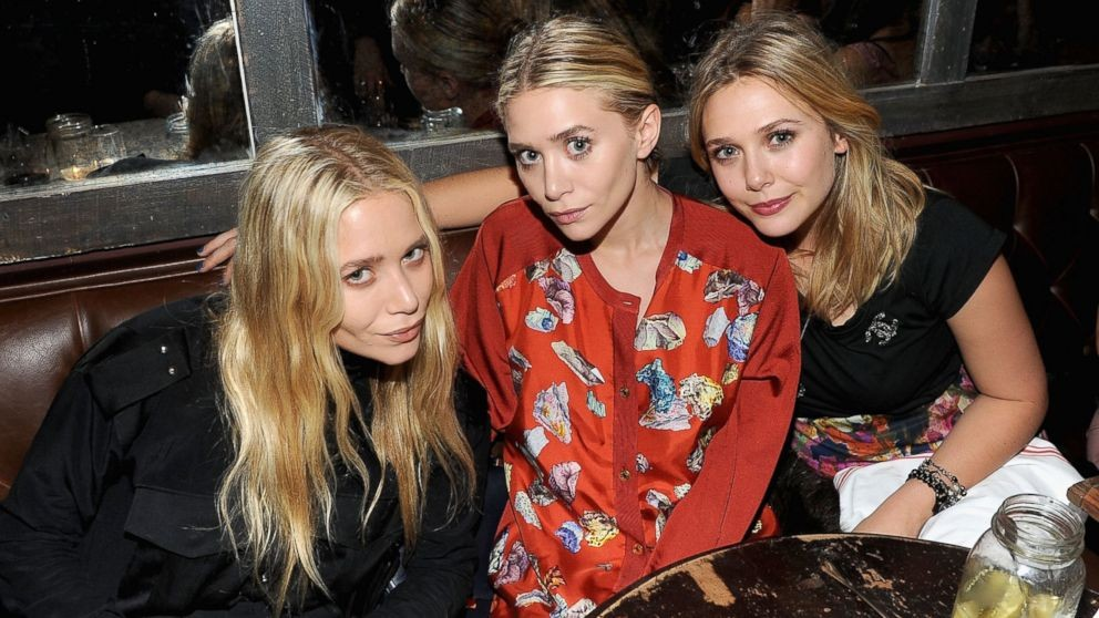 Mary-Kate, Ashley e Elizabeth Olsen  (Foto: Divulgação)