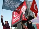 Presidente turco acusa o Ocidente de apoiar o 'terrorismo'