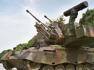 Gepard, novo blindado com artilharia antiaérea do Exército (Foto: divulgação)