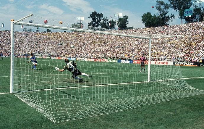 taffarel brasil baggio itália 1994 final copa do mundo (Foto: Agência Getty Images)