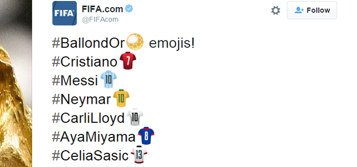 emojis Bola de Ouro