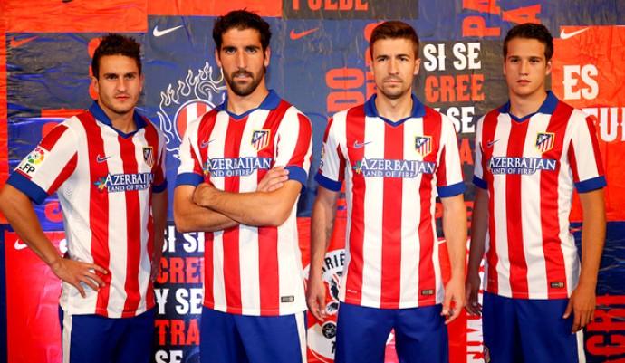 Nova camisa Atlético de Madrid