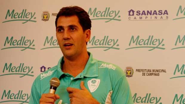 Maurício Lima é diretor técnico do Campinas (Foto: Divulgação Medley/Campinas)