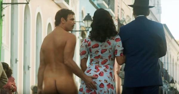 Marcelo Faria, Juliana Paes e Leandro Hassum na clássica cena que encerra o filme  (Foto: Reprodução)