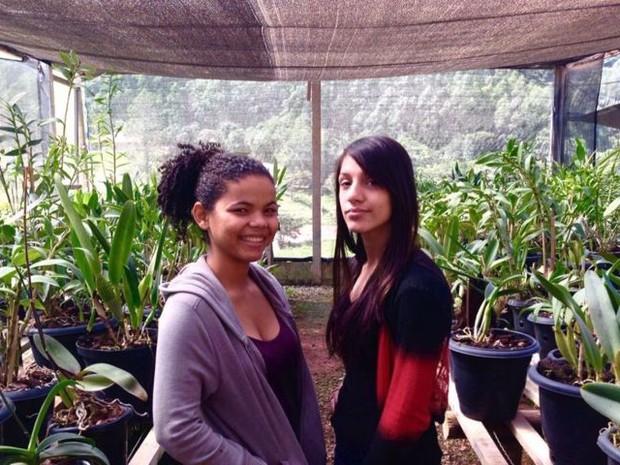 Jovens participam de intercâmbio agrícola no Espírito Santo (Foto: Reprodução/ TV Gazeta)