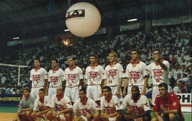 Marcelo Fronckowiak é o número 18 no título da Ulbra  (Foto: arquivo pessoal)